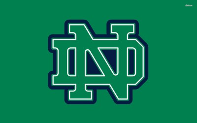 Notre Dame Fighting Irish football Athah Fine Quality Poster Paper Print