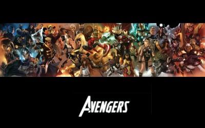 Avengers The Avengers Spider-Man Iron Man Ms. Marvel Wolverine Loki Frameless Fine Quality Poster Paper Print