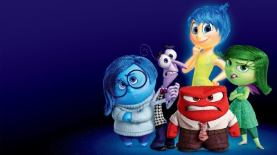 Movie Inside Out Fear Anger Disgust Joy Sadness HD Wall Poster Paper Print