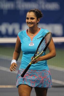 Athah Sania Mirza Tennis Player Poster Paper Print