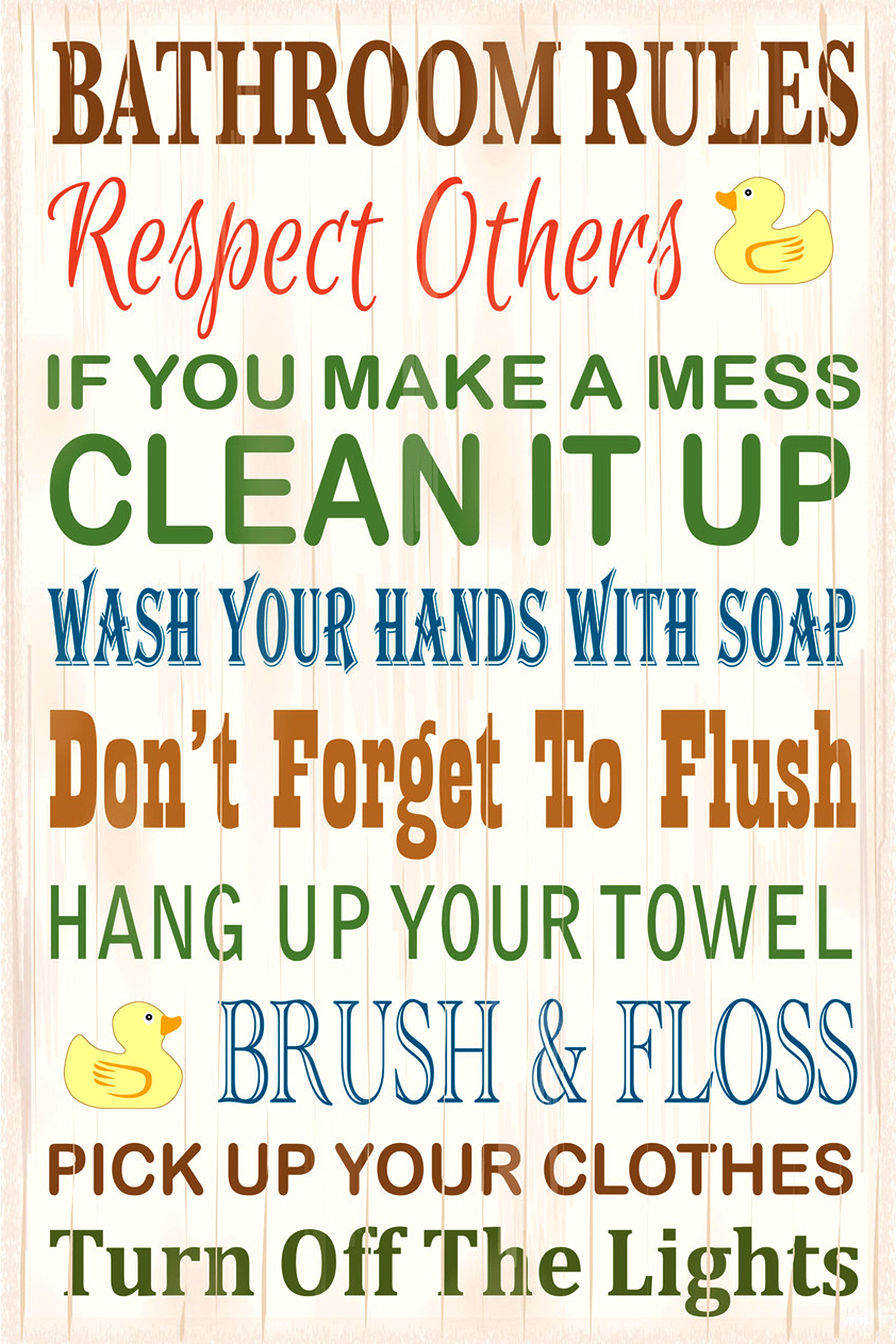 Deals | Bathroom Poster Decorate Your Bathroom