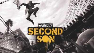 infamous second son Poster by PrintHike Paper Print