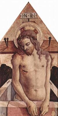 Altartafel aus San Silvestro in Massa Fermana, Detail - 5 (Medium) Paper Print