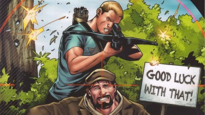 Archer & Armstrong Armstrong Archer HD Wall Poster Paper Print