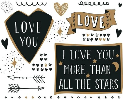 I Love You More Than All The Stars Premium Poster Canvas Art