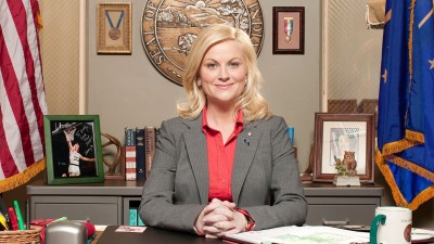 Wall Poster TVShow Parks And Recreation Leslie Knope Paper Print
