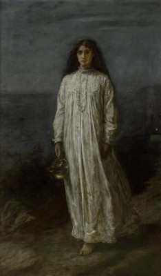 The Museum Outlet The Somnambulist, 1871 (Medium) Canvas Painting