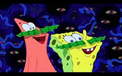 Wall Poster TVShow Spongebob Squarepants Spongebob Paper Print