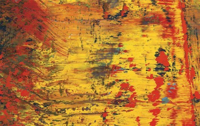 Gerhard Richter Abstract Painting Poster Paper Print