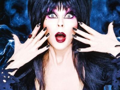 Wall Poster TVShow Elvira's Movie Macabre Paper Print