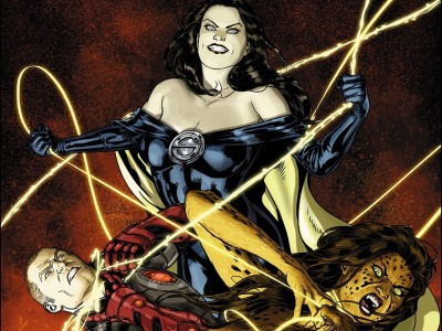 Forever Evil: A.r.g.u.s. Wonder Woman HD Wall Poster Paper Print