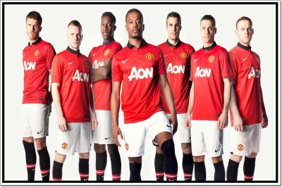 Manchester United FC Poster Paper Print