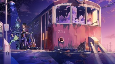 Miracle Train: Oedo-sen e Youkoso Athah Fine Quality Poster Paper Print
