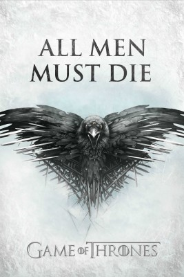 Game Of Thrones All Men Must Die Photographic Paper