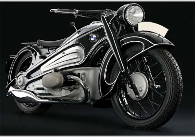Awesome BMW BikePoster (18 x 12 Inches) by Shopkeeda Paper Print