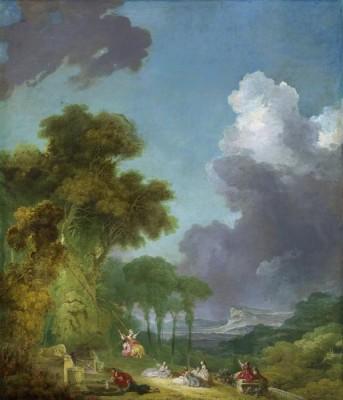 Game Swing (1775-1780) (Medium) Paper Print