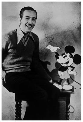 Walt Disney Paper Print