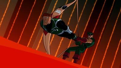 Wall Poster TV Show Batman: The Brave And The Bold Batman Plastic Man Green Arrow Paper Print