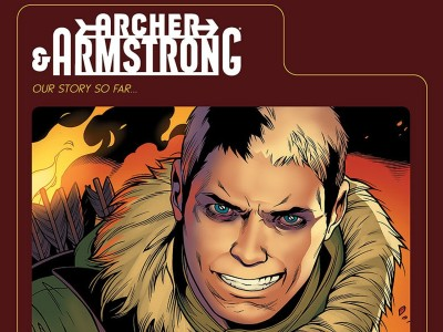 Archer & Armstrong Archer HD Wall Poster Paper Print
