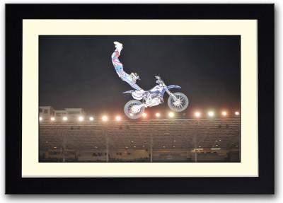 Bike Stunt Fine Art Print