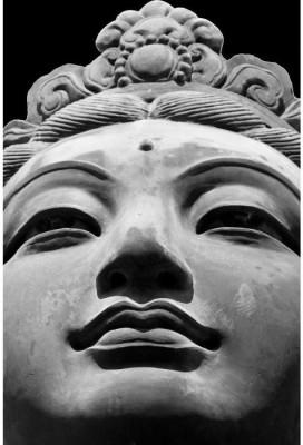 Athah Poster Si Devas Statues Tian Tan Big Buddha Hong Kong Paper Print