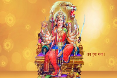Jai Maa Durga Paper Print