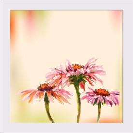 Artwork Echinacea Framed Art Print Canvas Art(5.0 inch X 5.0 inch, Framed)