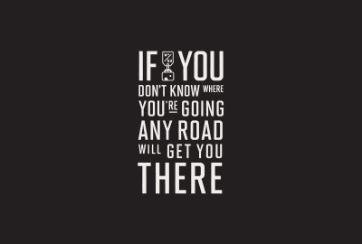 Posterhouzz Any Road to Get There - Motivational Poster Paper Print