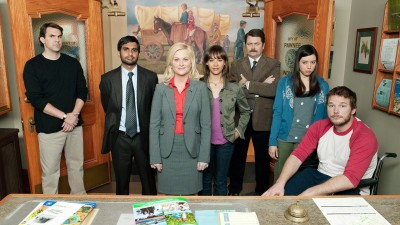 Wall Poster TV Show Parks And Recreation Paper Print