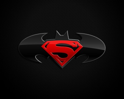 Superman/Batman Superman Batman Frameless Fine Quality Poster Paper Print