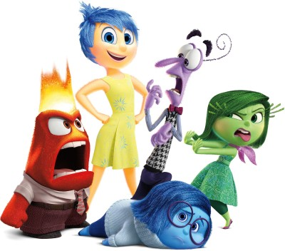 Movie Inside Out Disgust Fear Sadness Joy Anger HD Wall Poster Paper Print