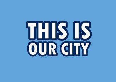 Manchester City: This is Our City Poster Paper Print