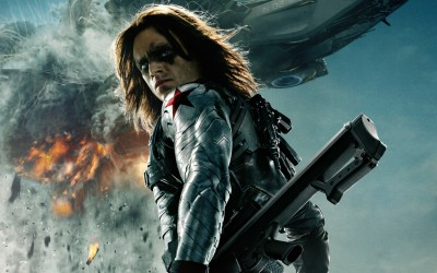 Movie Captain America: The Winter Soldier Captain America Winter Soldier Sebastian Stan HD Wall Poster Paper Print