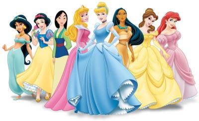 Disney Princesses Premium Poster Paper Print