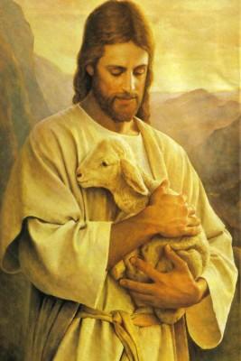 Athah Divine Jesus Blessings Poster Paper Print