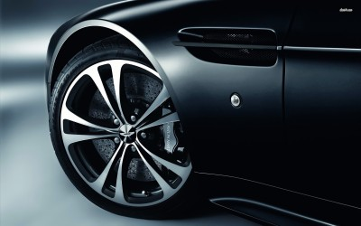 Athah Aston Martin rims Poster Paper Print