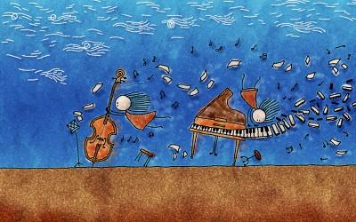 Music Artistic Art Drawing HD Wall Poster Paper Print