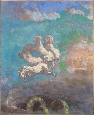 The Chariot of Apollo, 1905-14 (Medium) Paper Print