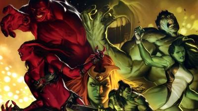 Hulk She-Hulk Frameless Fine Quality Poster Fine Art Print