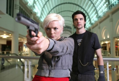 Wall Poster TV Show Primeval Connor Temple Andrew-Lee Potts Abby Maitland Hannah Spearritt Paper Print