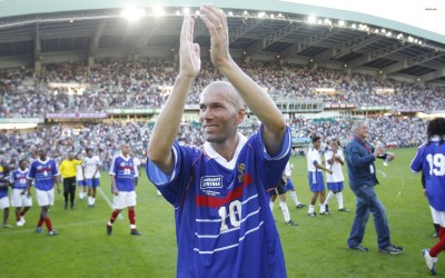 Zinedine Zidane Athah Fine Quality Poster Paper Print