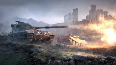Posterhouzz Poster British Tank Destroyers World of Tanks Paper Print