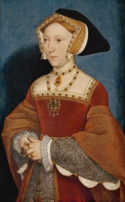 Portrait of Jane Seymour, Queen of England. 1536 (Medium) Paper Print
