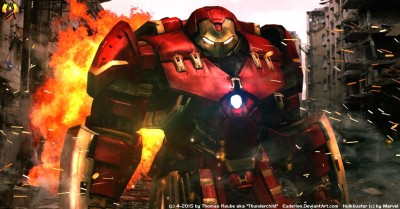 Movie Avengers: Age Of Ultron The Avengers Avengers Hulkbuster Armor HD Wall Poster Paper Print
