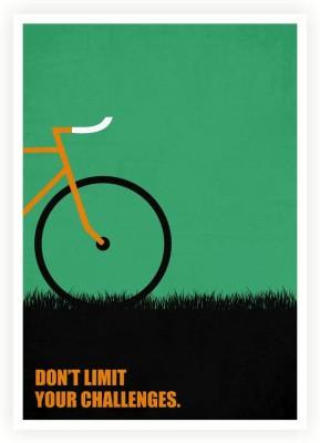 Don,t Limit Your Challenges Business Quotes Paper Print