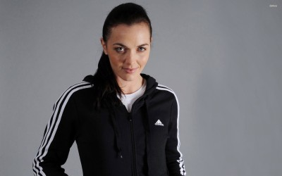 Victoria Pendleton Athah Fine Quality Poster Paper Print
