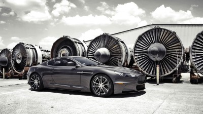 Athah Aston Martin DBS Poster Paper Print