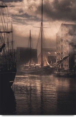 Ships of the Past Paper Print