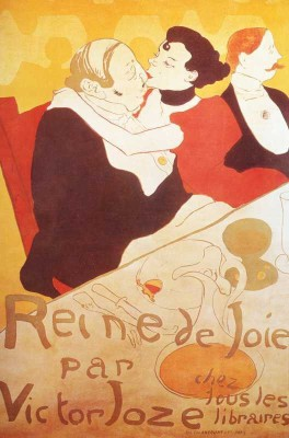 The Museum Outlet - Art Postcard - Reine de Joie Fine Art Print