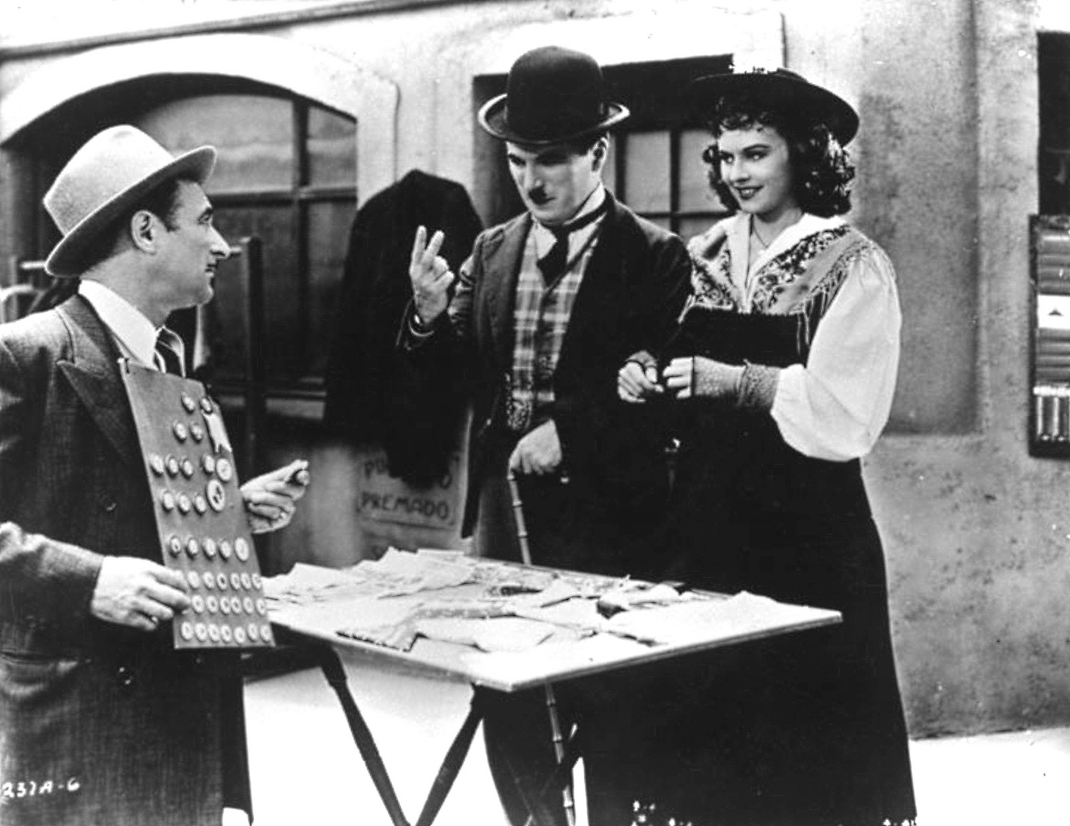 Charlie Chaplin Fine Art Print class=